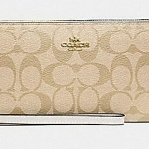 Coach Jes Large Wallet NWT